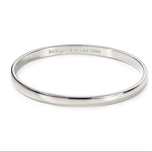 "kate spade ""find the silver lining"" bangle"